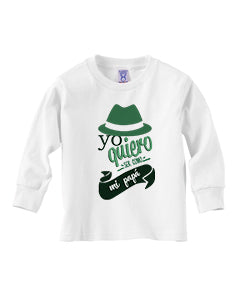 To be a father TODDLERS' LONG-SLEEVED