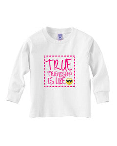 True Friendship TODDLERS' LONG-SLEEVED