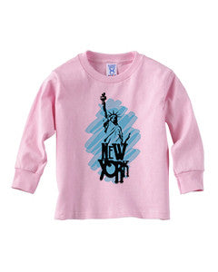 Visiting The Liberty TODDLERS' LONG-SLEEVED