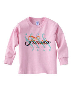 Florida Sweet Home TODDLERS' LONG-SLEEVED