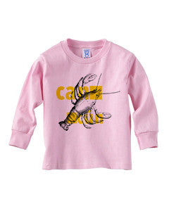 Lobster in Cancun TODDLERS' LONG-SLEEVED