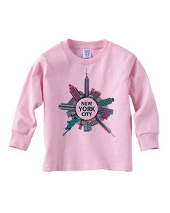 Getting Around in NYC TODDLERS' LONG-SLEEVED