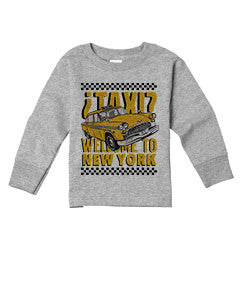 Viva Hey Taxi TODDLERS' LONG-SLEEVED