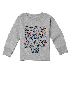 ET invade TODDLERS' LONG-SLEEVED