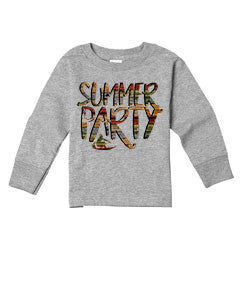 Summer Party TODDLERS' LONG-SLEEVED