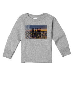 New York Twilight TODDLERS' LONG-SLEEVED