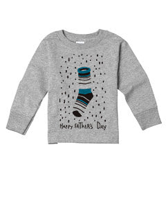 Socks Dad TODDLERS' LONG-SLEEVED