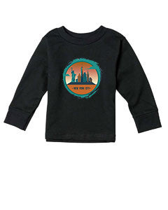 Views in New York TODDLERS' LONG-SLEEVED