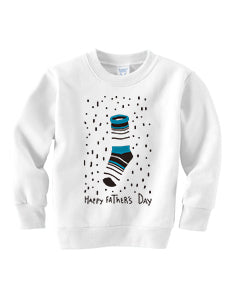 Socks Dad TODDLERS' FLEECE SWEATSHIRT