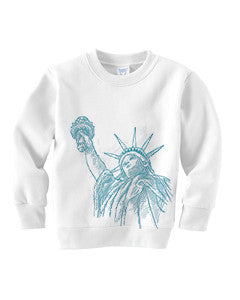 New York to be free TODDLERS' FLEECE SWEATSHIRT
