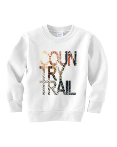 Country Trail TODDLERS' FLEECE SWEATSHIRT