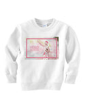 Hello LV TODDLERS' FLEECE SWEATSHIRT
