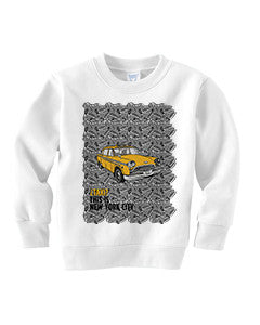 Super Taxi Wey in NY TODDLERS' FLEECE SWEATSHIRT