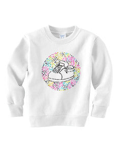 Chiqui Shoes TODDLERS' FLEECE SWEATSHIRT