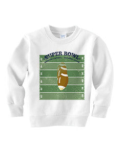 Super Bowl GO TODDLERS' FLEECE SWEATSHIRT