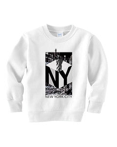 New York NOW TODDLERS' FLEECE SWEATSHIRT