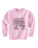 Hidden Rabbit TODDLERS' FLEECE SWEATSHIRT