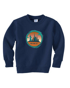 Views in New York TODDLERS' FLEECE SWEATSHIRT