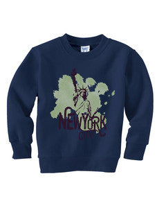 Paint your NYC TODDLERS' FLEECE SWEATSHIRT