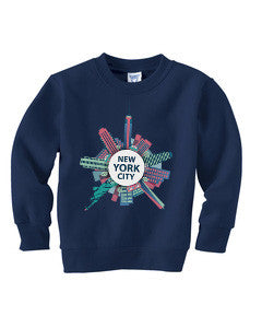 Getting Around in NYC TODDLERS' FLEECE SWEATSHIRT