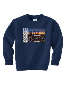 New York Twilight TODDLERS' FLEECE SWEATSHIRT