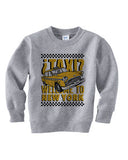 Viva Hey Taxi TODDLERS' FLEECE SWEATSHIRT