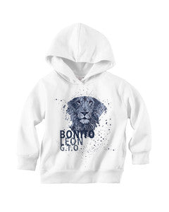 Beautiful leo TODDLERS' PULLOVER HOOD