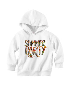 Summer Party TODDLERS' PULLOVER HOOD
