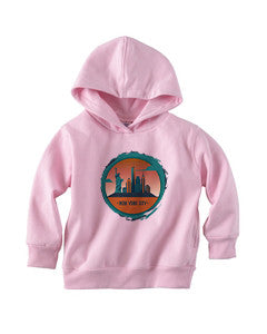 Views in New York TODDLERS' PULLOVER HOOD