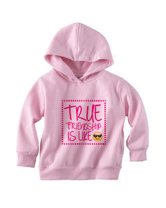 True Friendship TODDLERS' PULLOVER HOOD