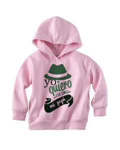 To be a father TODDLERS' PULLOVER HOOD