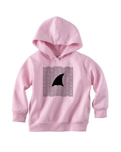 New S. Beach shark TODDLERS' PULLOVER HOOD
