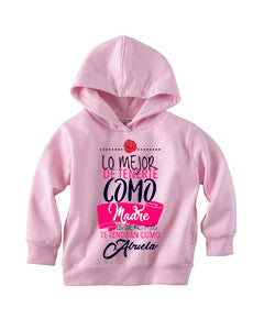 Love Mom TODDLERS' PULLOVER HOOD
