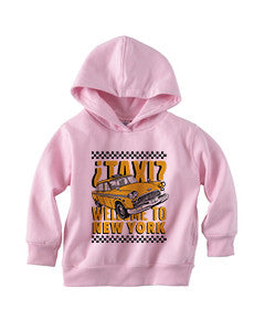 Viva Hey Taxi TODDLERS' PULLOVER HOOD
