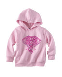 Colorful Elephant TODDLERS' PULLOVER HOOD