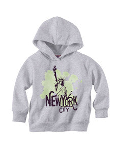 Paint your NYC TODDLERS' PULLOVER HOOD