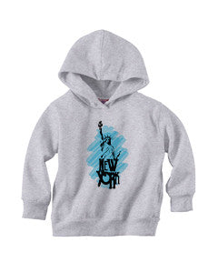 Visiting The Liberty TODDLERS' PULLOVER HOOD