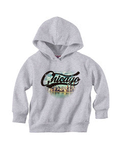 Chicago Skyline TODDLERS' PULLOVER HOOD