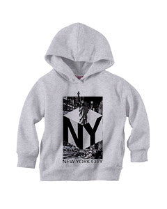 New York NOW TODDLERS' PULLOVER HOOD