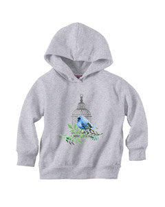 Bird Cage TODDLERS' PULLOVER HOOD