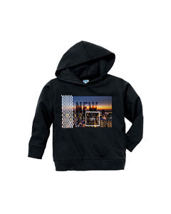 New York Twilight TODDLERS' PULLOVER HOOD