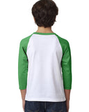 Summer Party YOUTHS' 3/4 SLEEVED RAGLAN