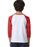 Views in New York YOUTHS' 3/4 SLEEVED RAGLAN
