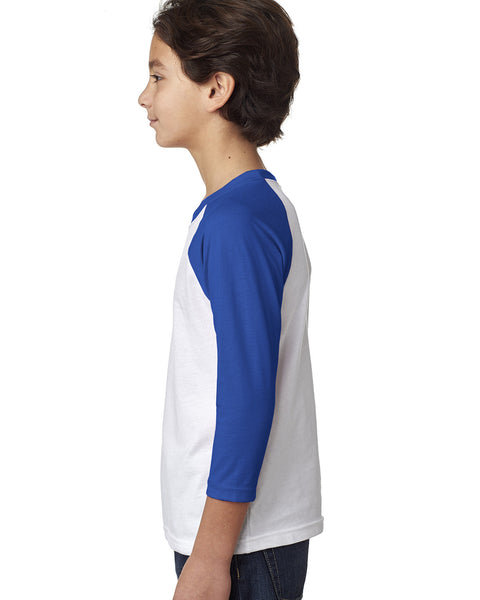 Love Mom YOUTHS' 3/4 SLEEVED RAGLAN
