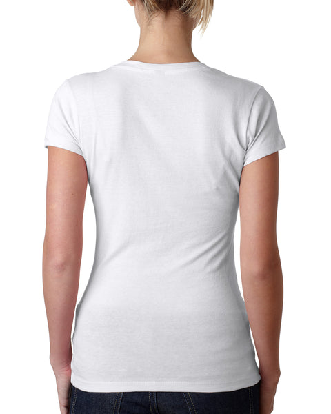 FreeSu LADIES' V-NECK T-SHIRT