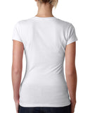 Hidden Rabbit LADIES' V-NECK T-SHIRT