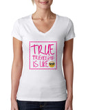 True Friendship LADIES' V-NECK T-SHIRT