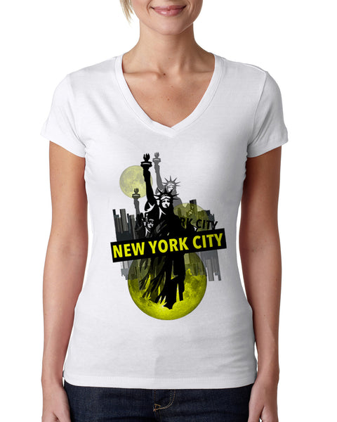 Viva NY LADIES' V-NECK T-SHIRT
