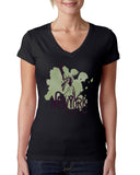 Paint your NYC LADIES' V-NECK T-SHIRT