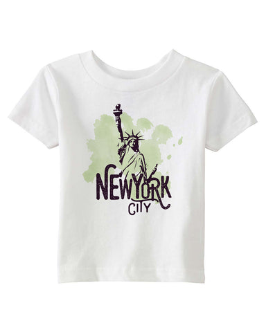 Paint your NYC BABYS' T-SHIRT